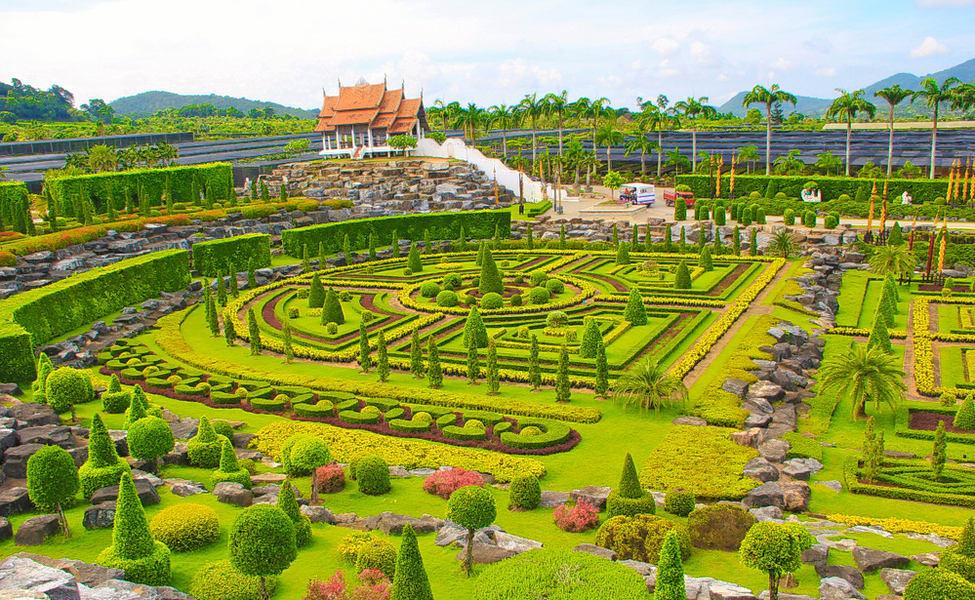 Nong Nooch Pattaya botanical gardens